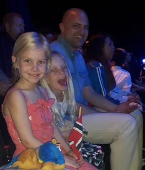 Kajsa, Lucy og Pappa